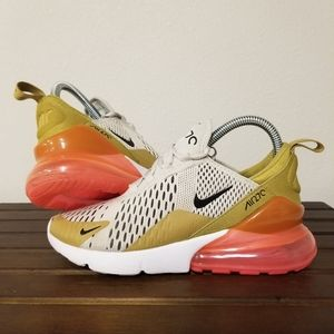 Nike Air Max 270 Tan Gold Punch size 7